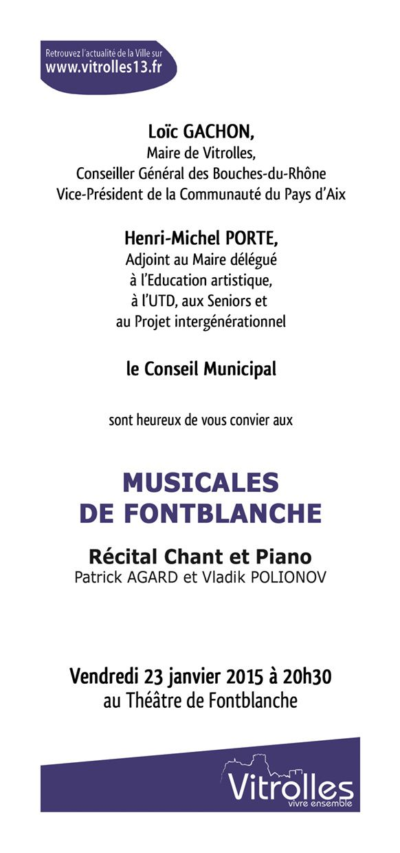 Musicale à FONTBLANCHE