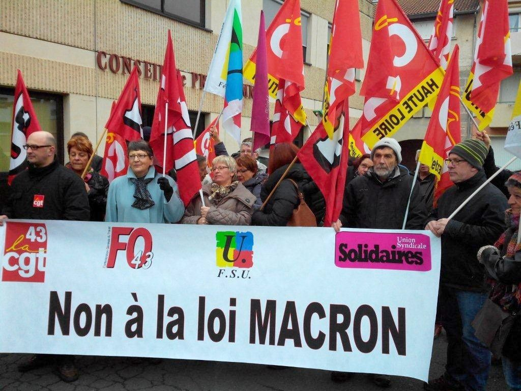 26 janvier : coup d'envoi de la mobilisation pour le retrait de la loi Macron