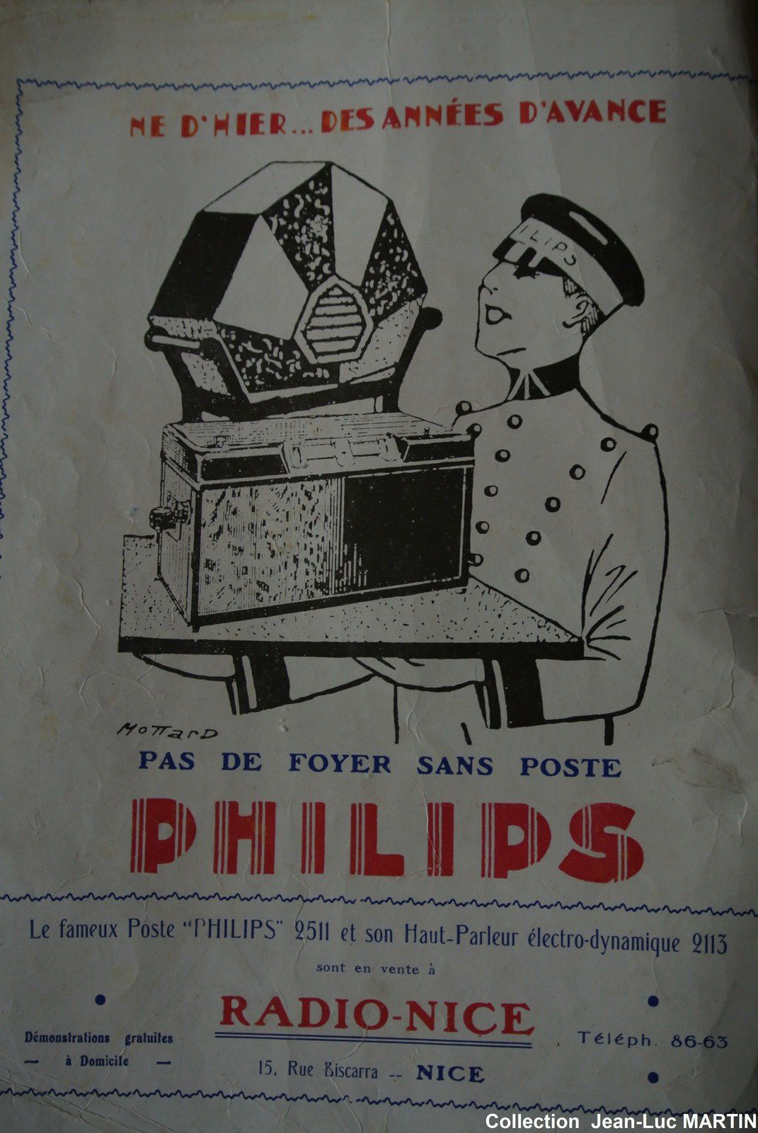 DISQUES PHILIPS 1932