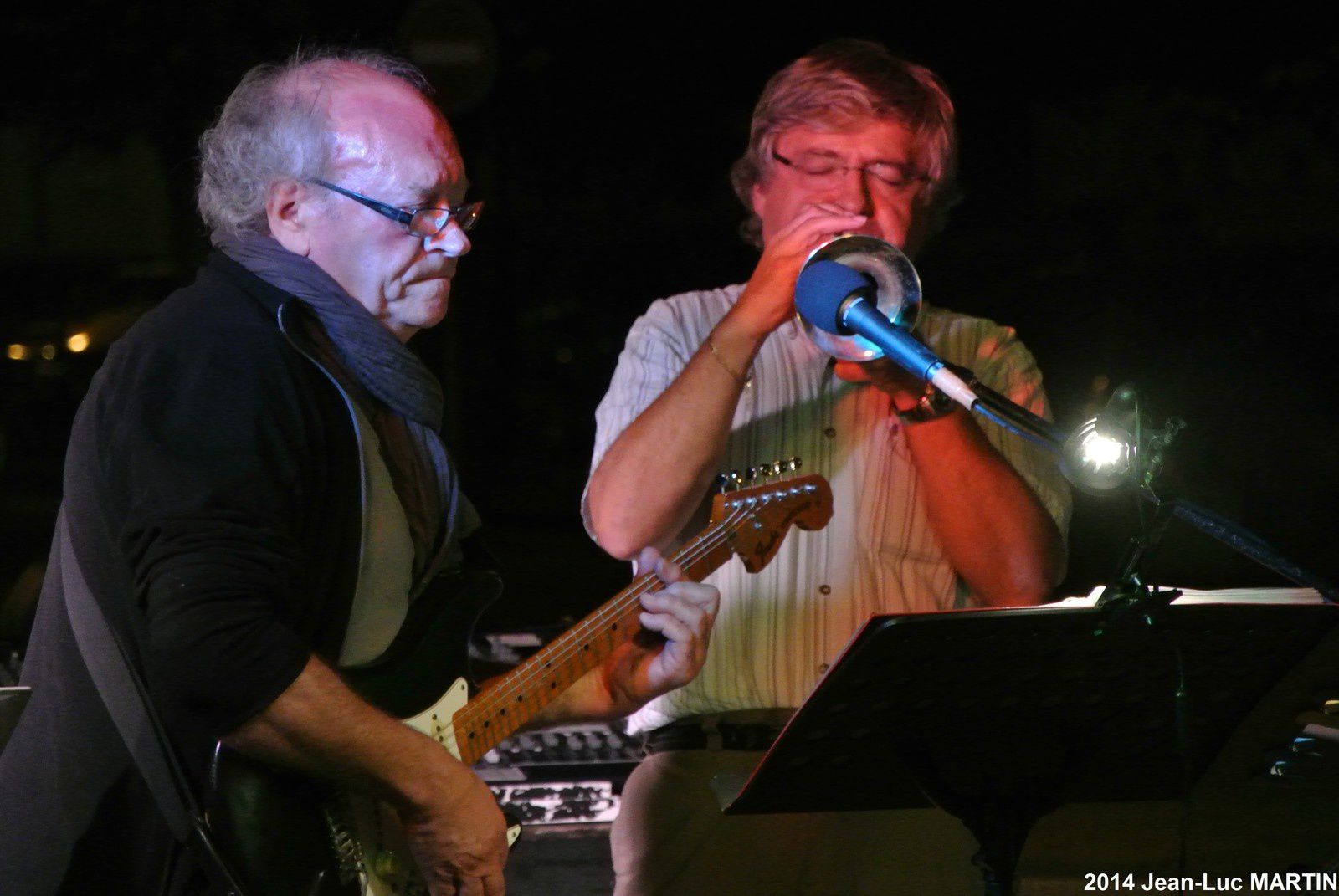 APARTE + JEAN-YVES MARTIN A ST JEAN D'ANGELY 2014