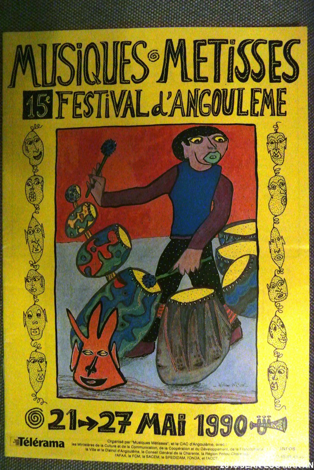 MUSIQUES METISSES ANGOULEME 1990
