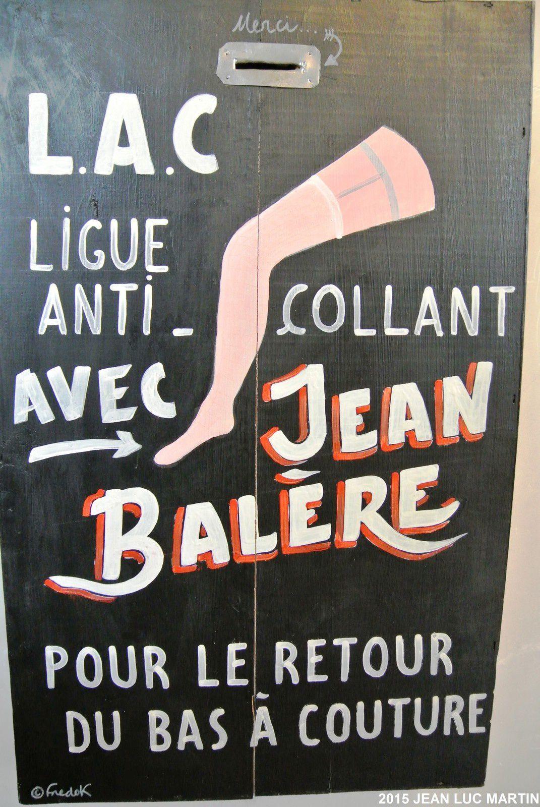 LIGUE ANTI COLLANTS: JEAN BALERE