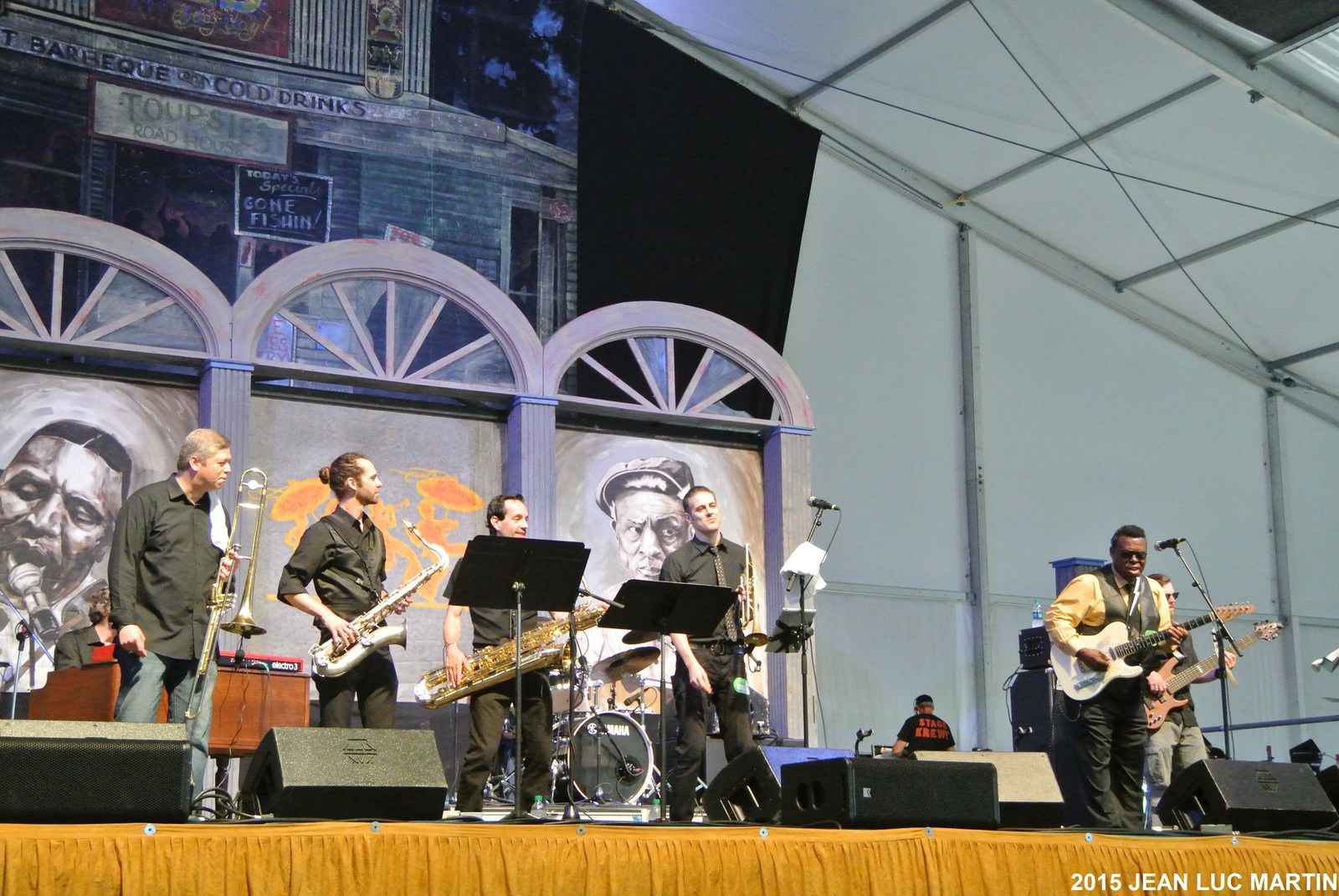 ERNIE VINCENT AND THE TOP NOTES NOLA 2015