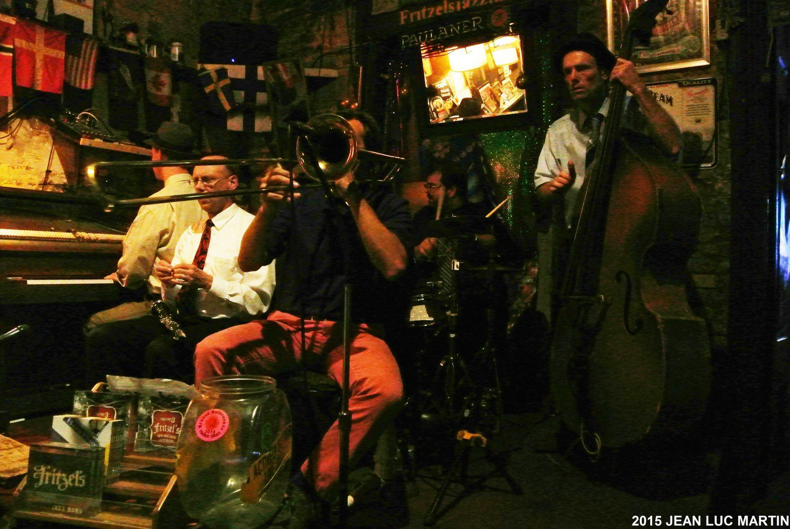 FITZEL'S JAZZ BAND AU FITZEL'S A NEW ORLEANS LE 23/04/2015
