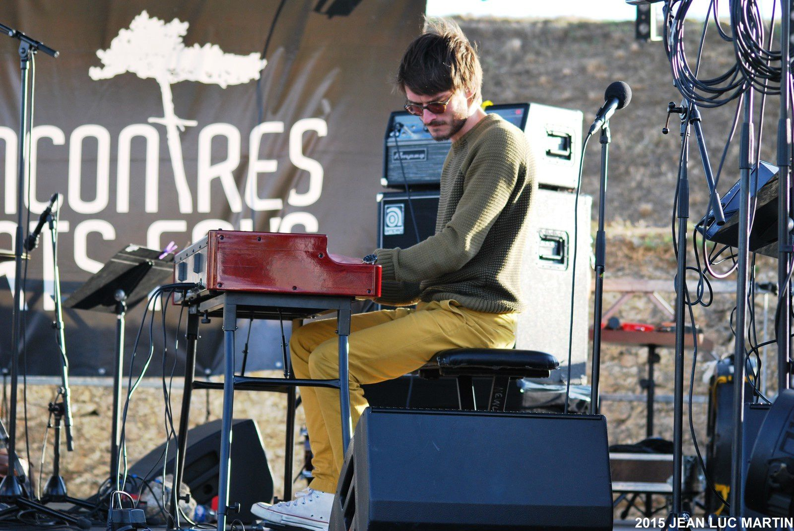 FRED DUPONT ORGAN SESSION A FOURAS LE 25/07/2015