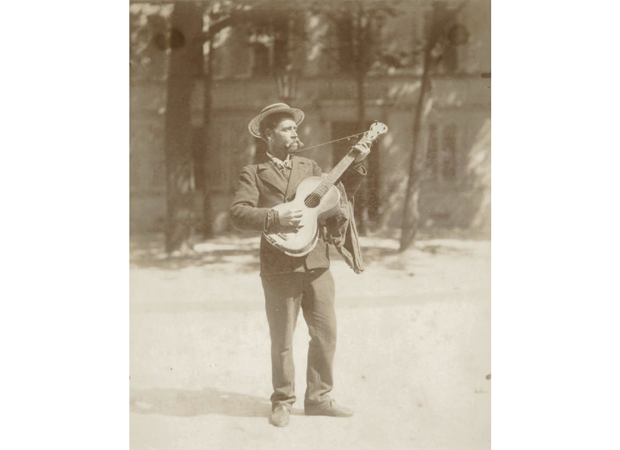 1ER FRENCH BLUESMAN GUITARISTE SELON ATGET