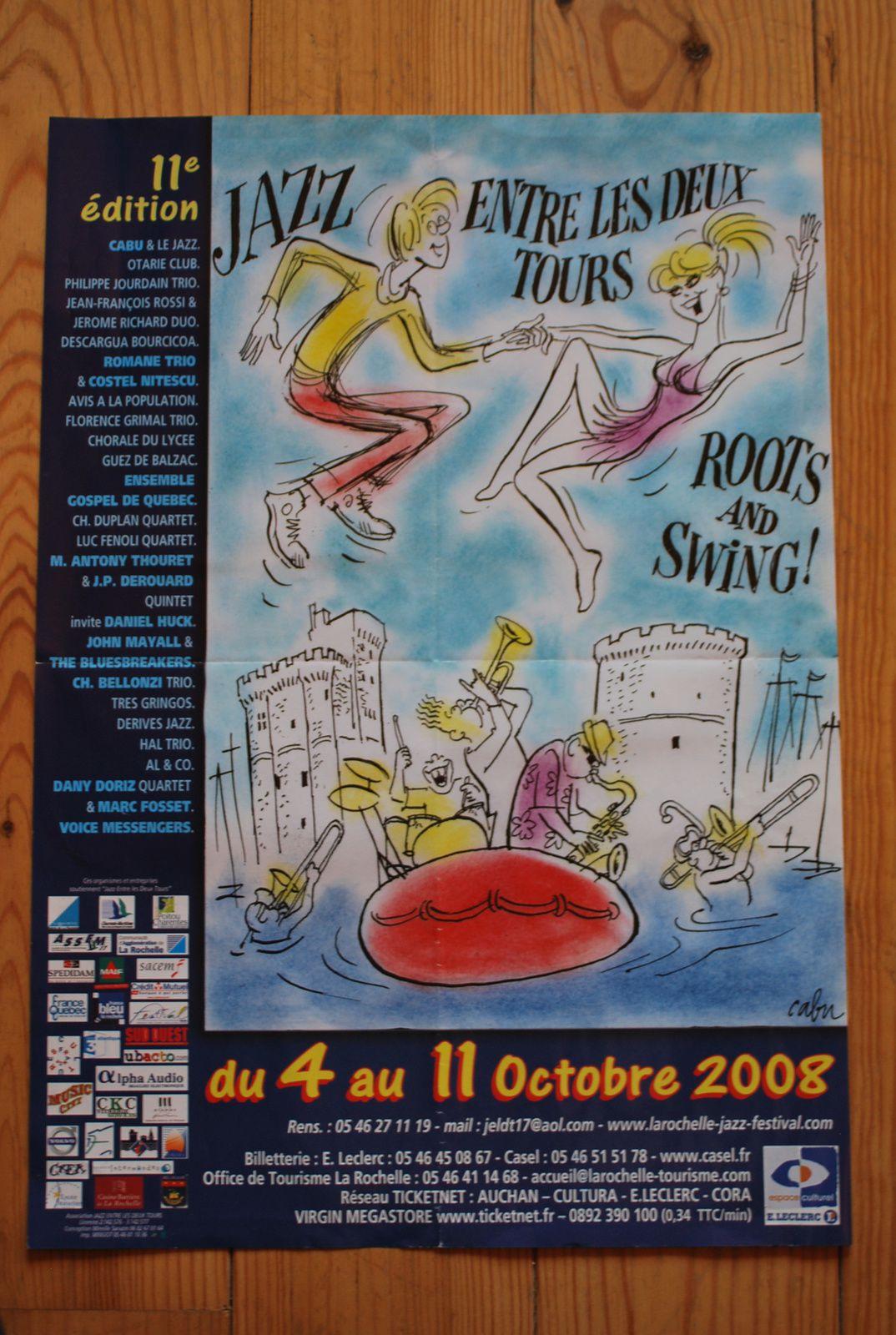 CABU: JAZZ ENTRE LES 2 TOURS 2008
