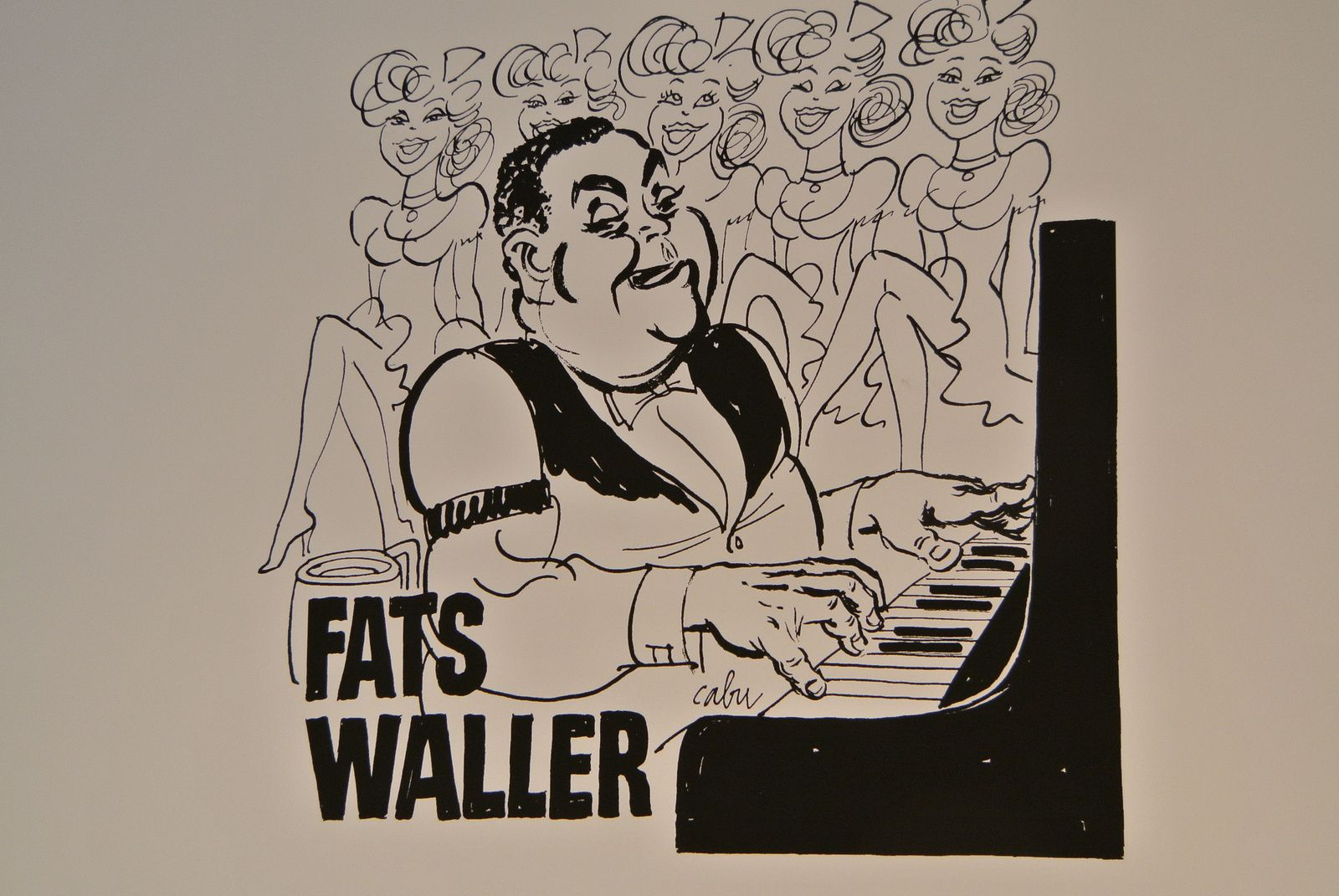FATS WALLER SELON CABU: THE SHOW MUST GO ON