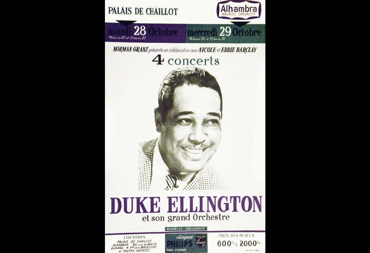 DUKE ELLINGTON AU PALAIS DE CHAILLOT