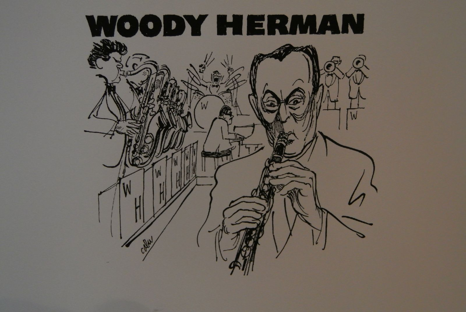 WOODY HERMAN SELON CABU