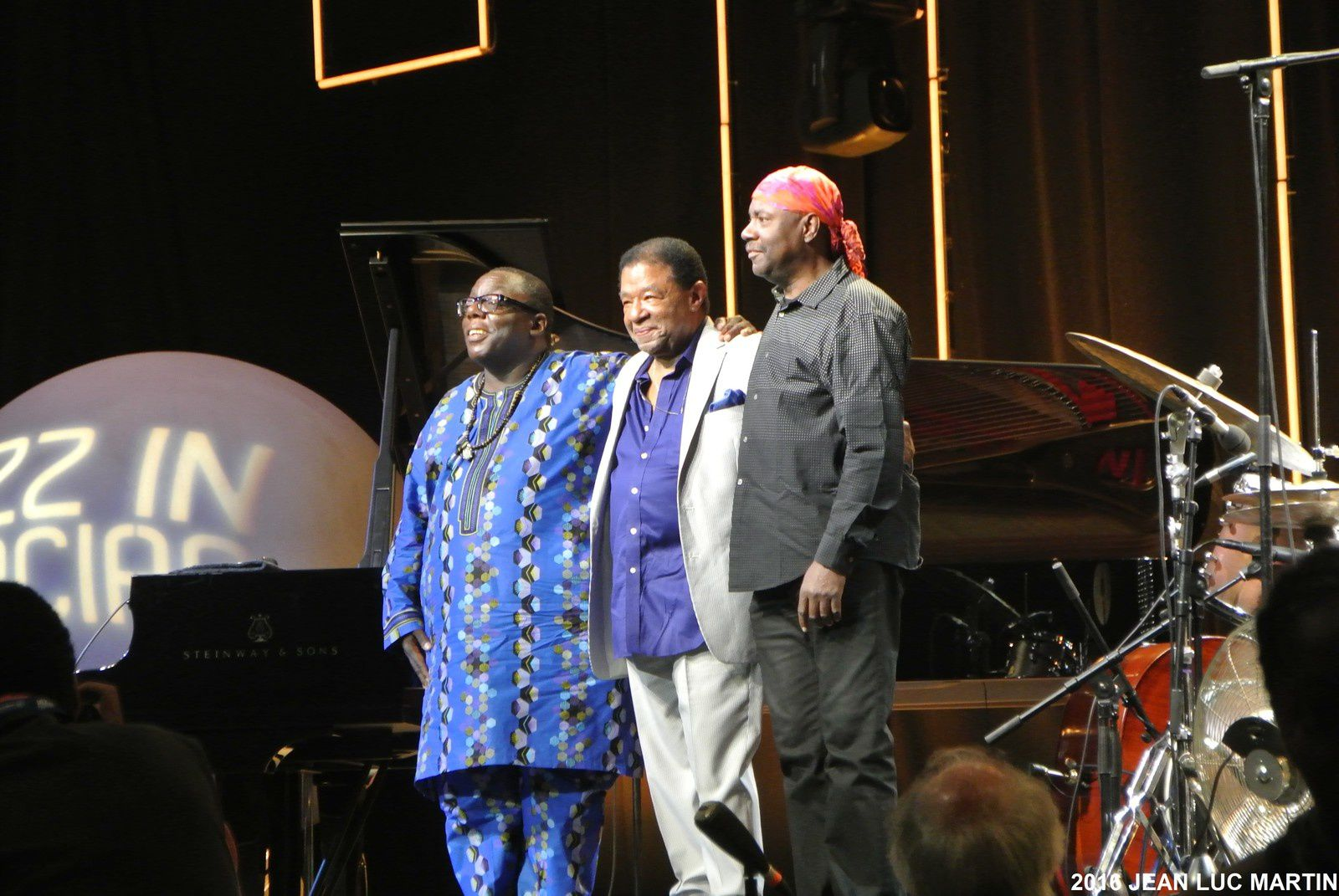 CYRUS CHESTNUT/ BUSTER WILLIAMS/ LENNY WHITE A MARCIAC LE 7/08/2016