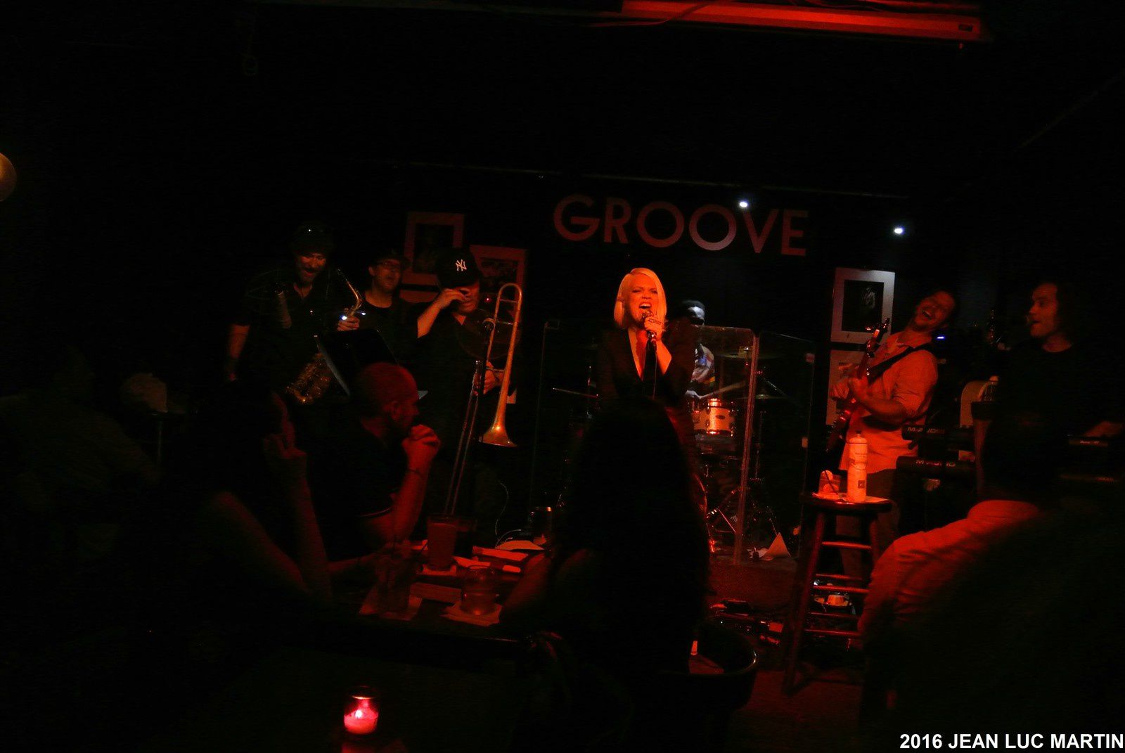 NEW-YORK FUNK EXCHANGE AU GROOVE A NEW-YORK LE 10/09/2016