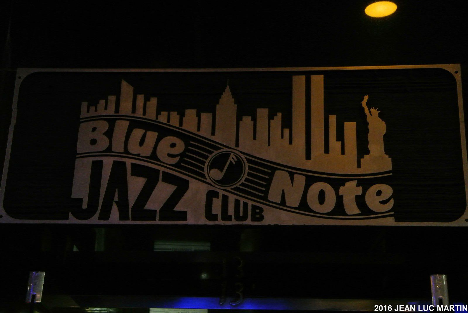 BLUE NOTE JAZZ CLUB IN NEW YORK