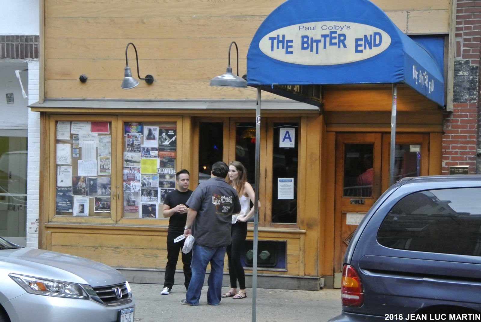 THE BITTER END A NEW-YORK