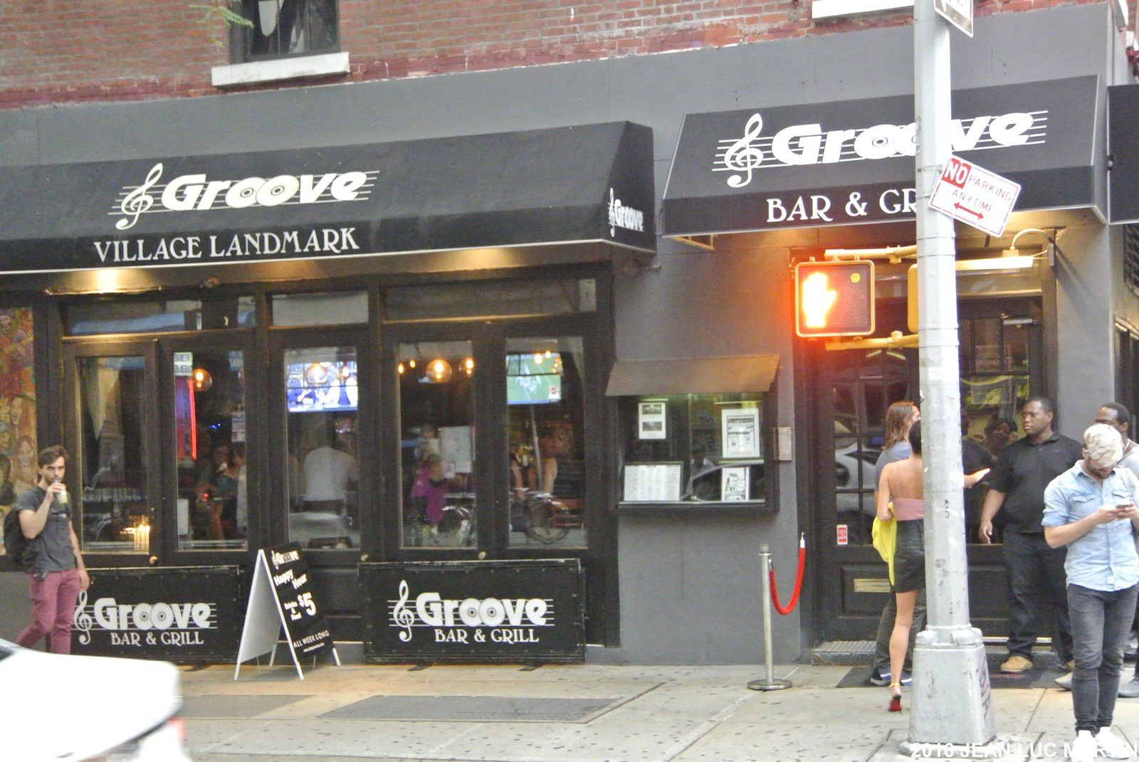 LE GROOVE A NEW-YORK
