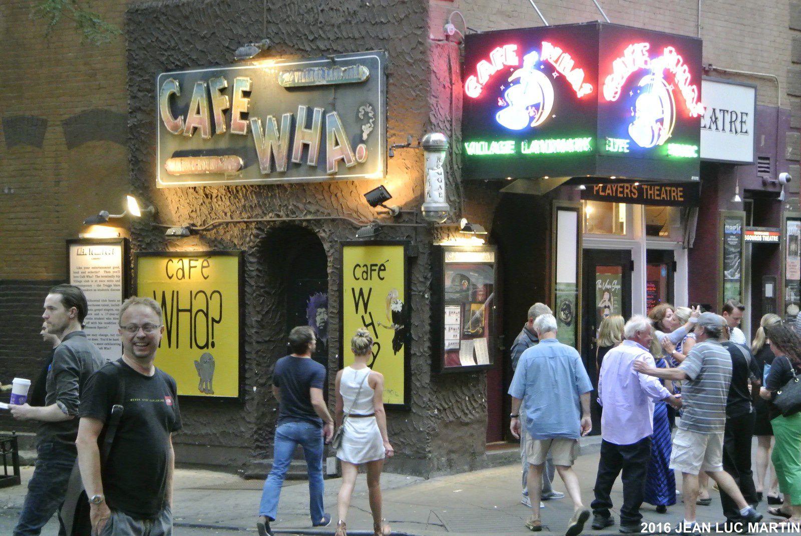CAFÉ WHA A NEW-YORK: UN CLUB MYTIQUE