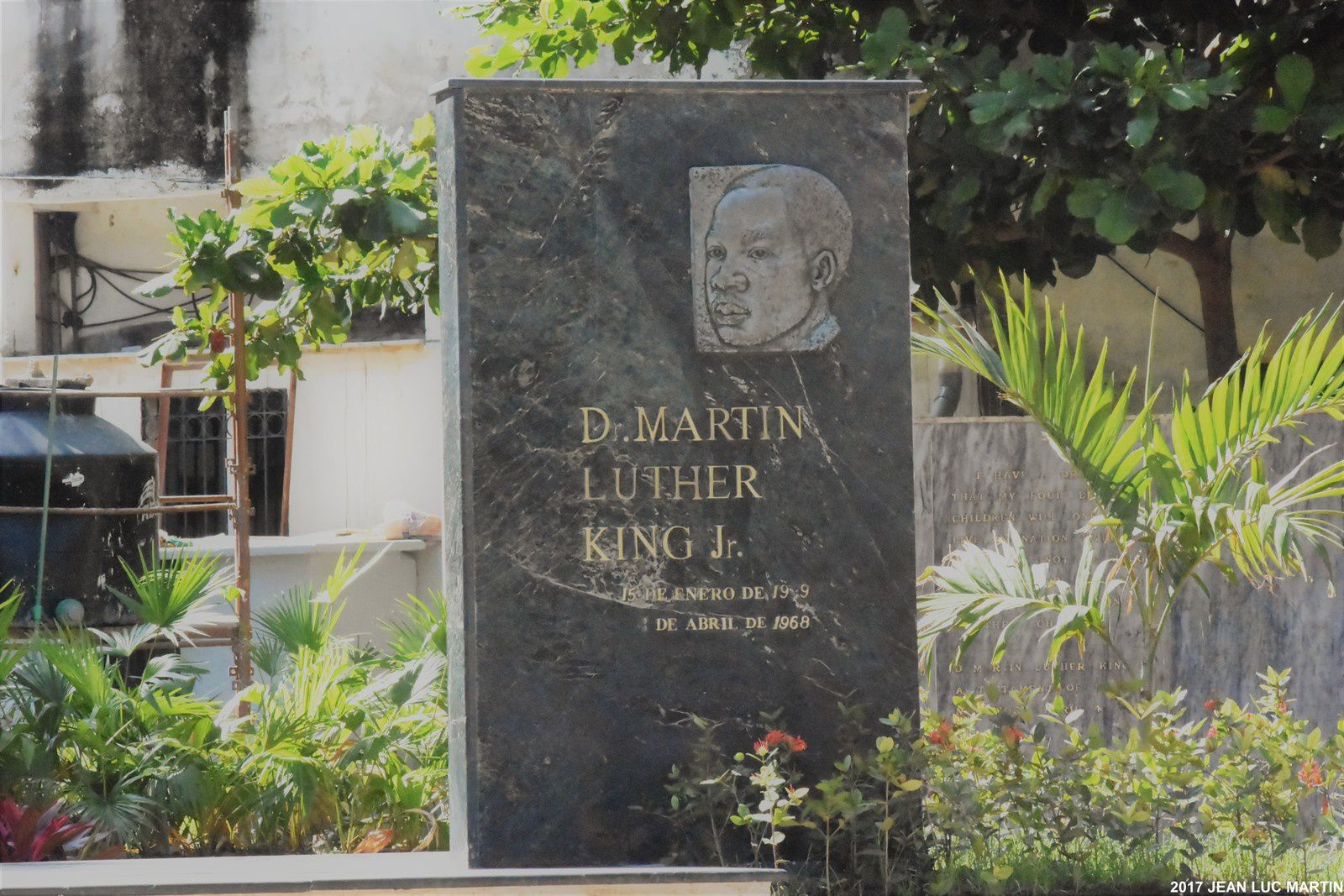 HOMMAGE CUBAIN A MARTIN LUTHER KING