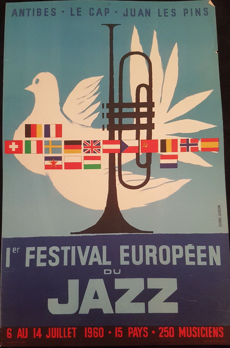 1ER FESTIVAL DE JAZZ A JUAN LES PINS: UN CONCEPT NOUVEAU POUR METTRE EN VALEUR LES GRANDS MUSICIENS DE JAZZ