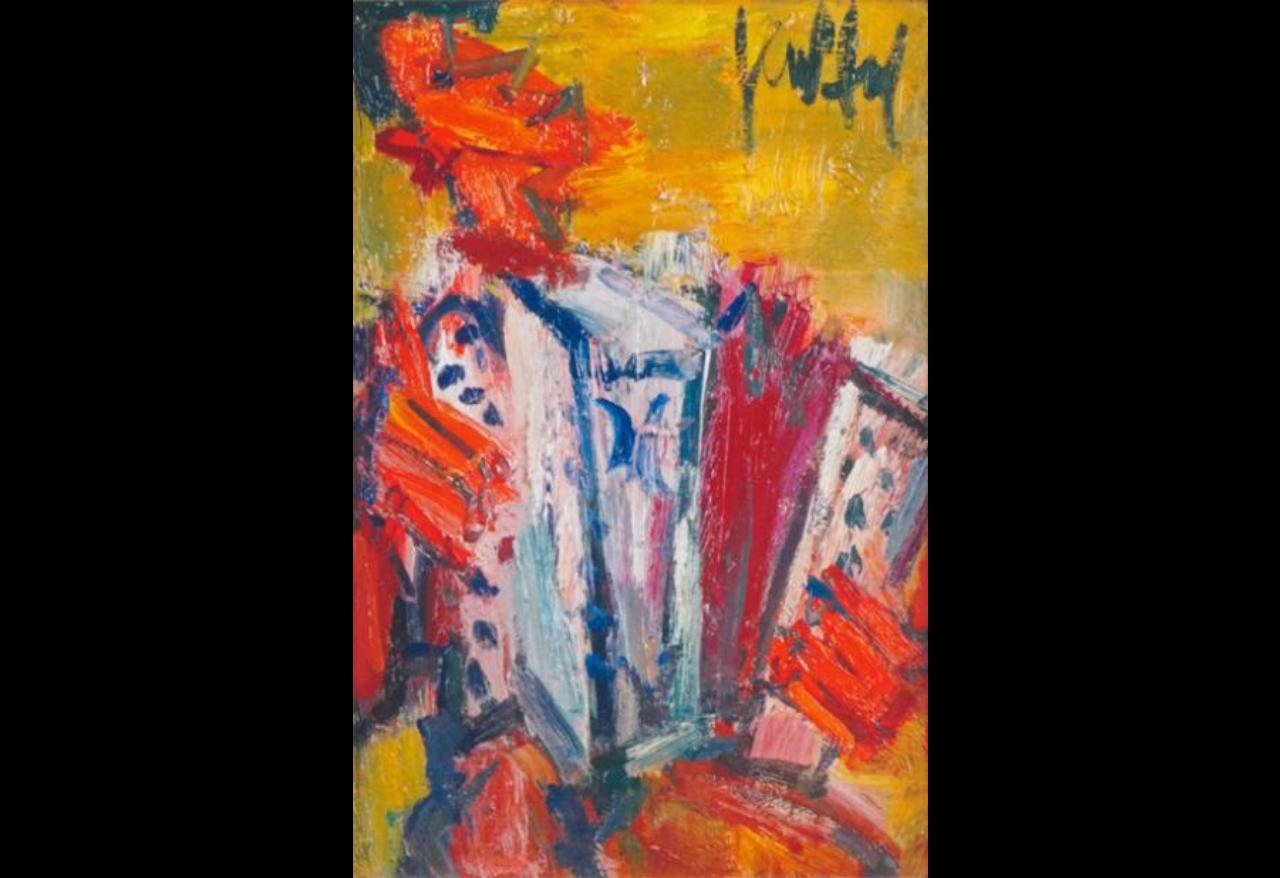 ART ET JAZZ: GEN PAUL: L'ACCORDEONISTE