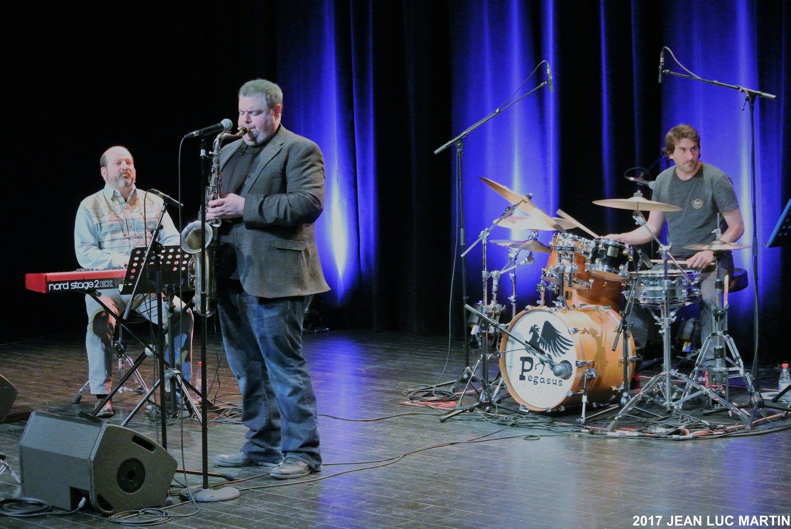 FRANK CATALANO AND HIS FRENCH GUYS A ST GEORGES DE DIDONNE LE 29/04/2017