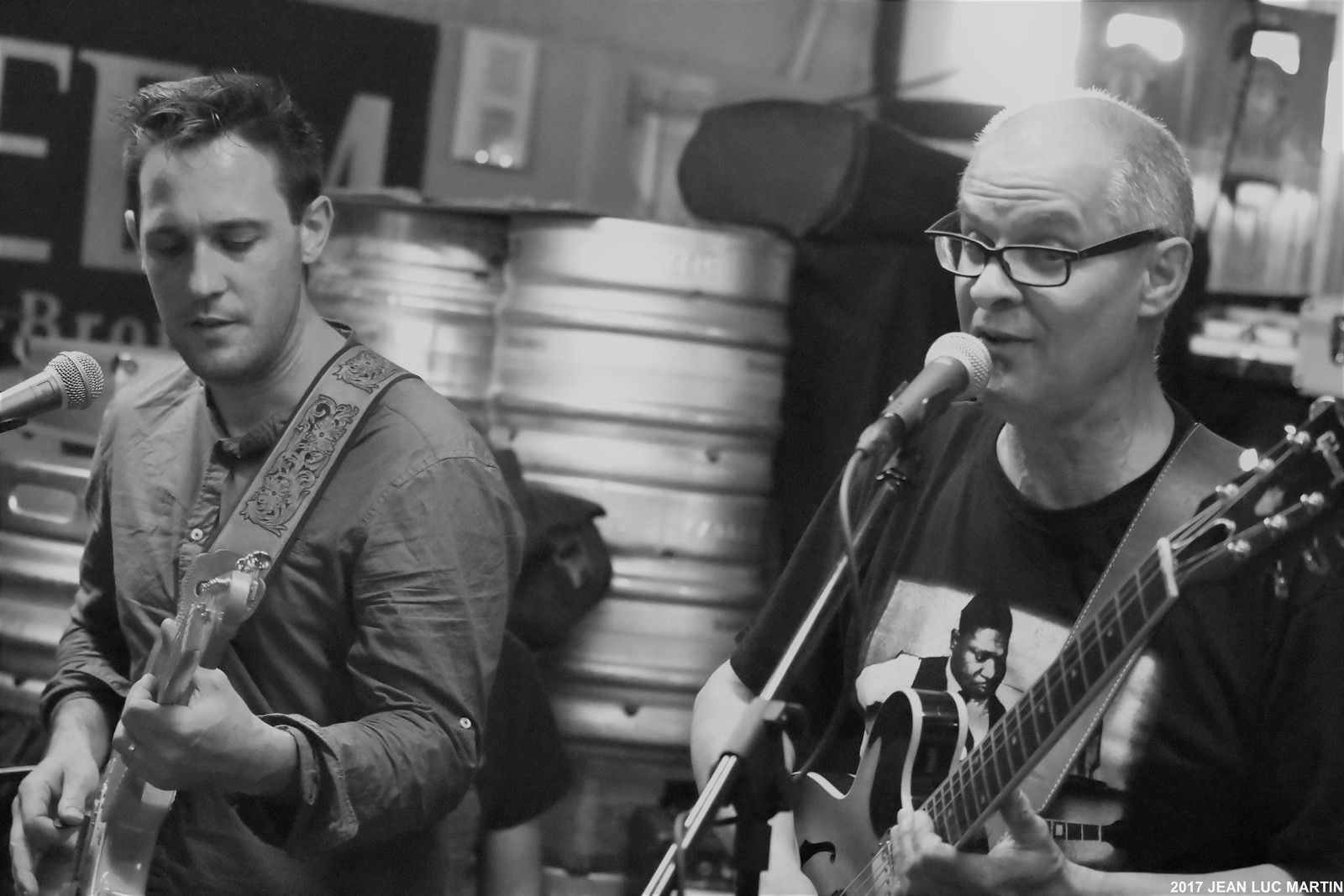 "BLUES AND KID A ""LA GRAINE D'ORGE"" A SAINTES LE 12/05/2017"