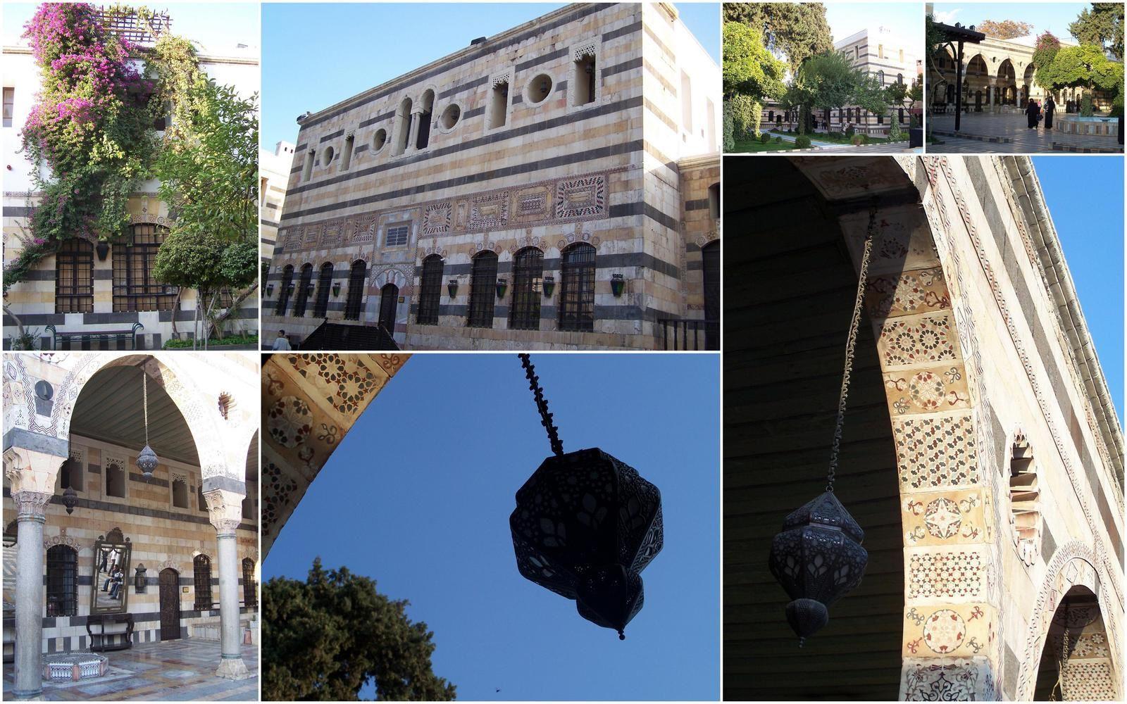 Syrie, Damas et ses palais