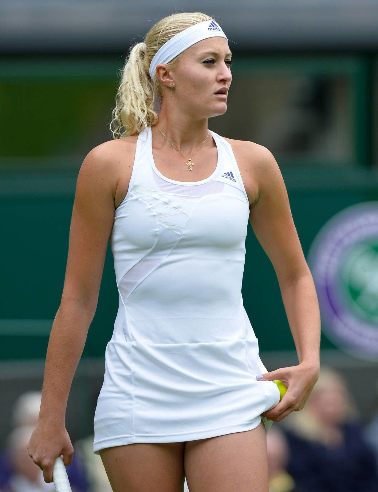 Sous la jupe des joueuses de tennis : kristina mladenovic