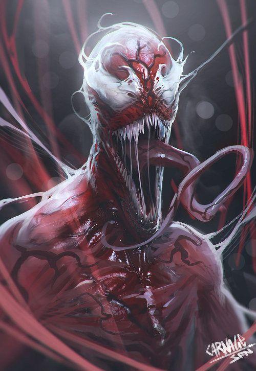 #Marvel #Carnage #Symbiote