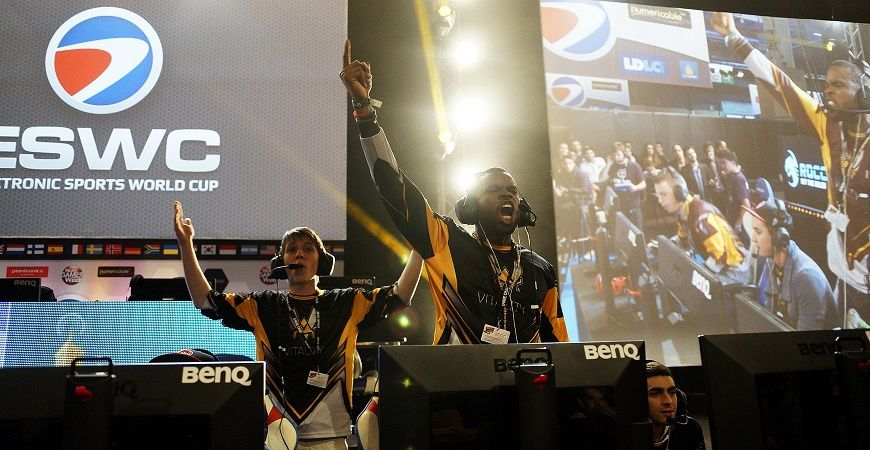 L'ESWC en force à la Paris Games Week