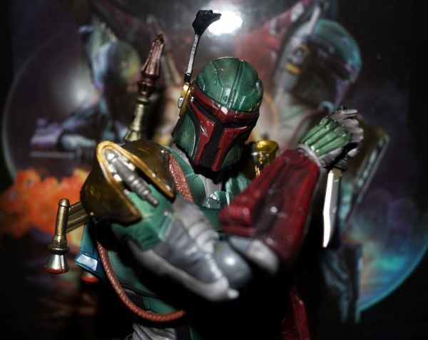 Star Wars Play Arts Kai Variant Figure - Boba Fett