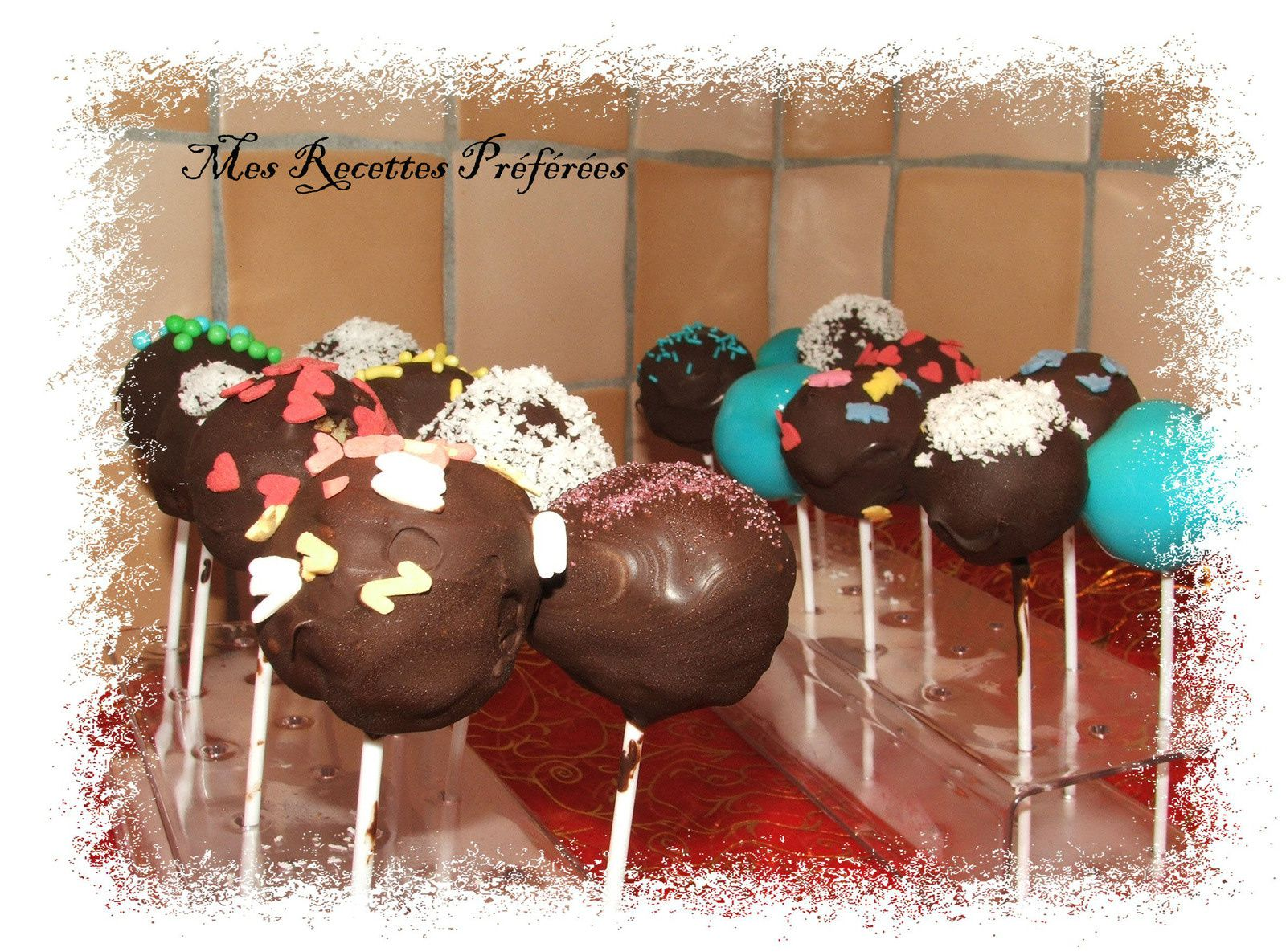 Mes premiers cake pop