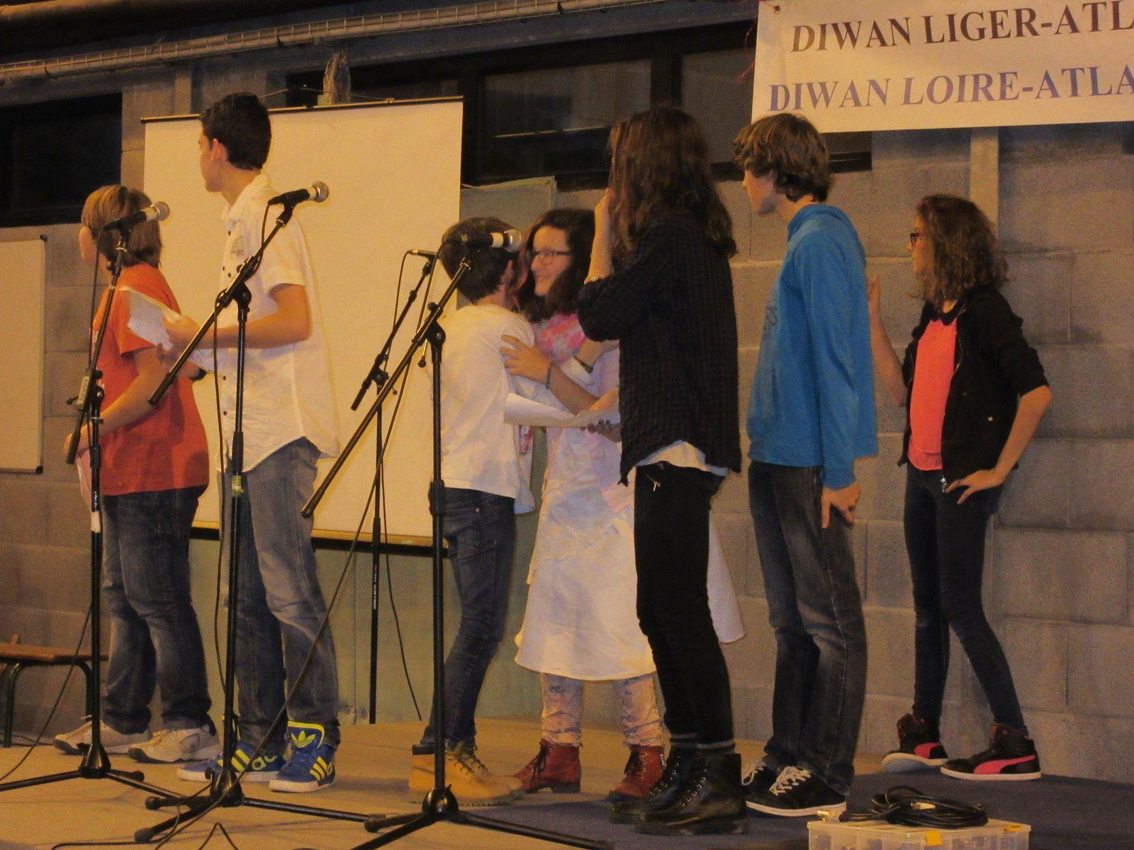 Dec'h da noz, Gouel Skolaj Diwan Liger-Atlantel e Sant-Ervlan