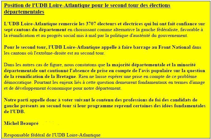 Mon soutien public n'ira qu'à des candidats qui ont envie de représenter la Bretagne