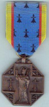 """Créée en 1937, la """"médaille de Saint-Clair"""" souligne la bretonnité du diocèse de Nantes."""