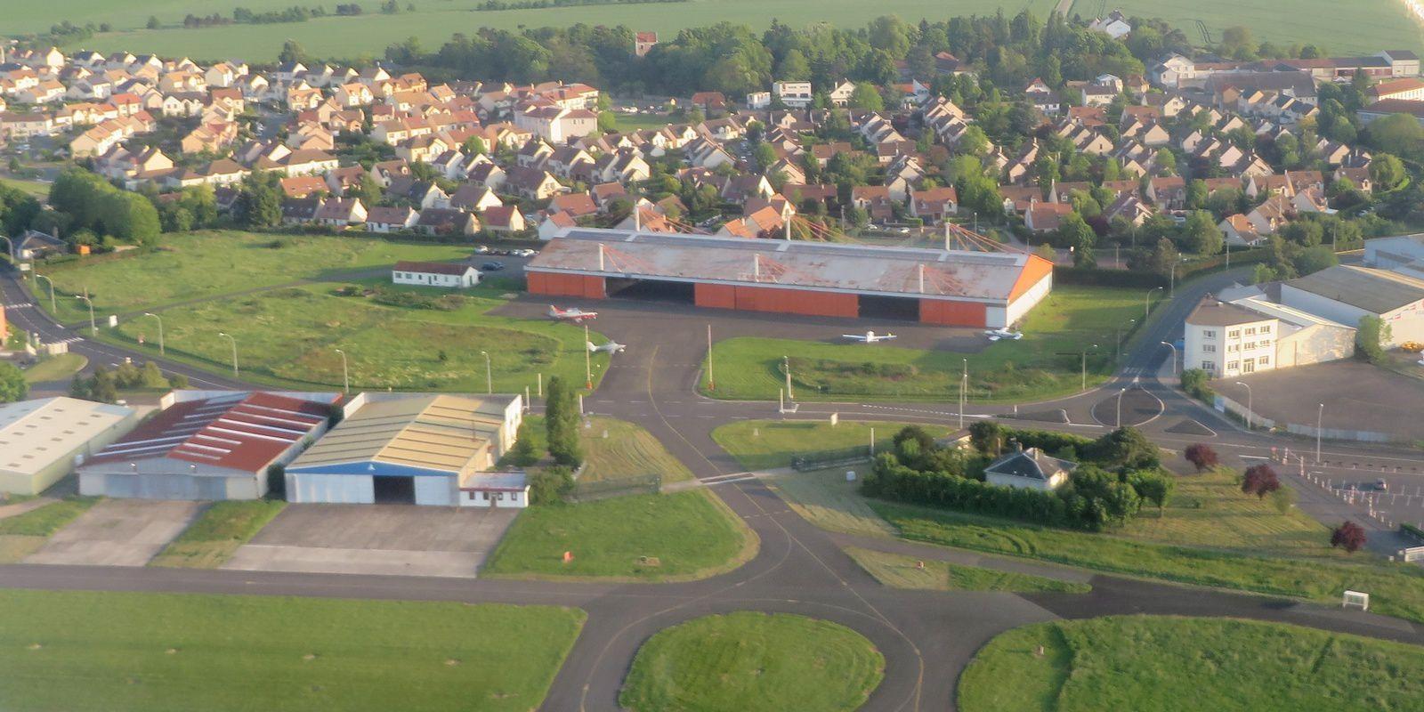 photo prises en vol vers Rouen