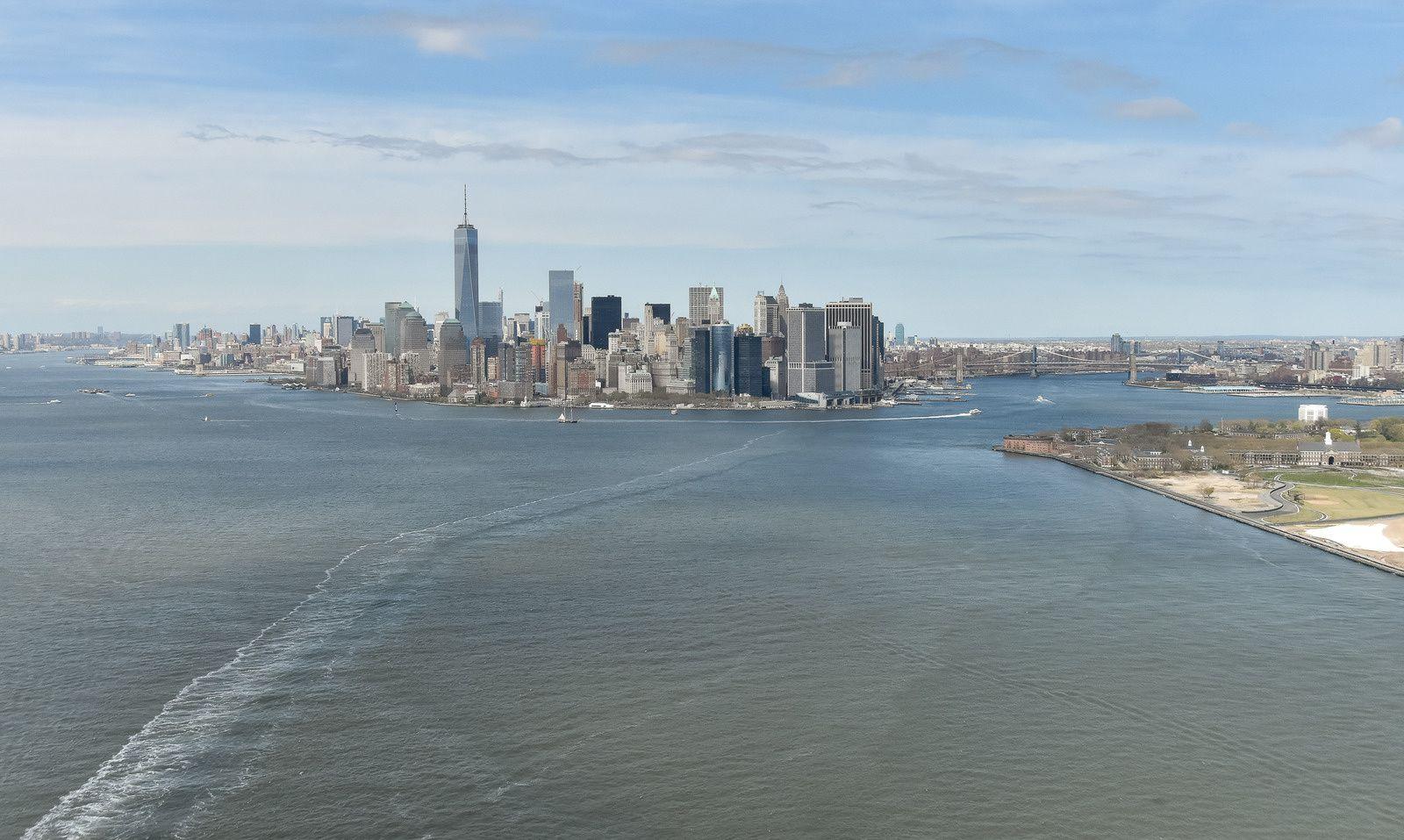 New York depuis le ciel