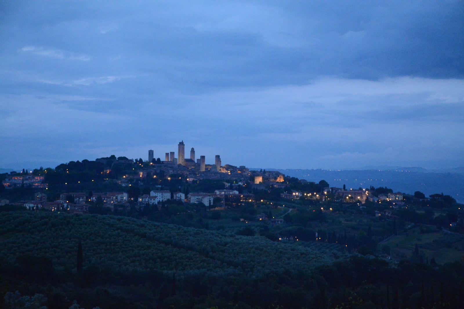 Sous le ciel de Toscane