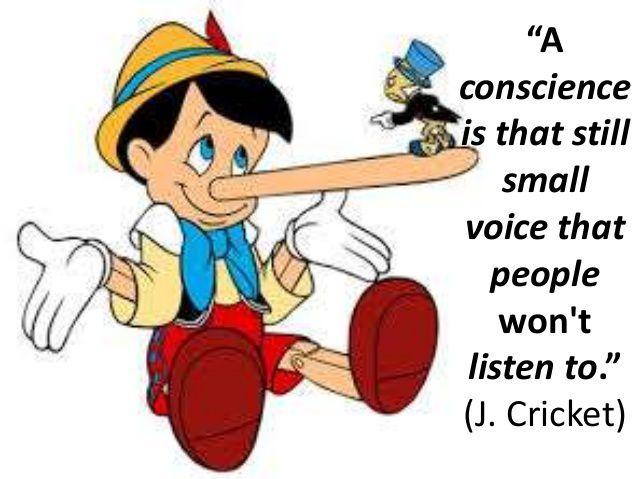 la conscience est une petite voix que nous ne voulons pas écouter ? Faux – C'est la surface de déploiement maximum de nos contacts avec la réalité.