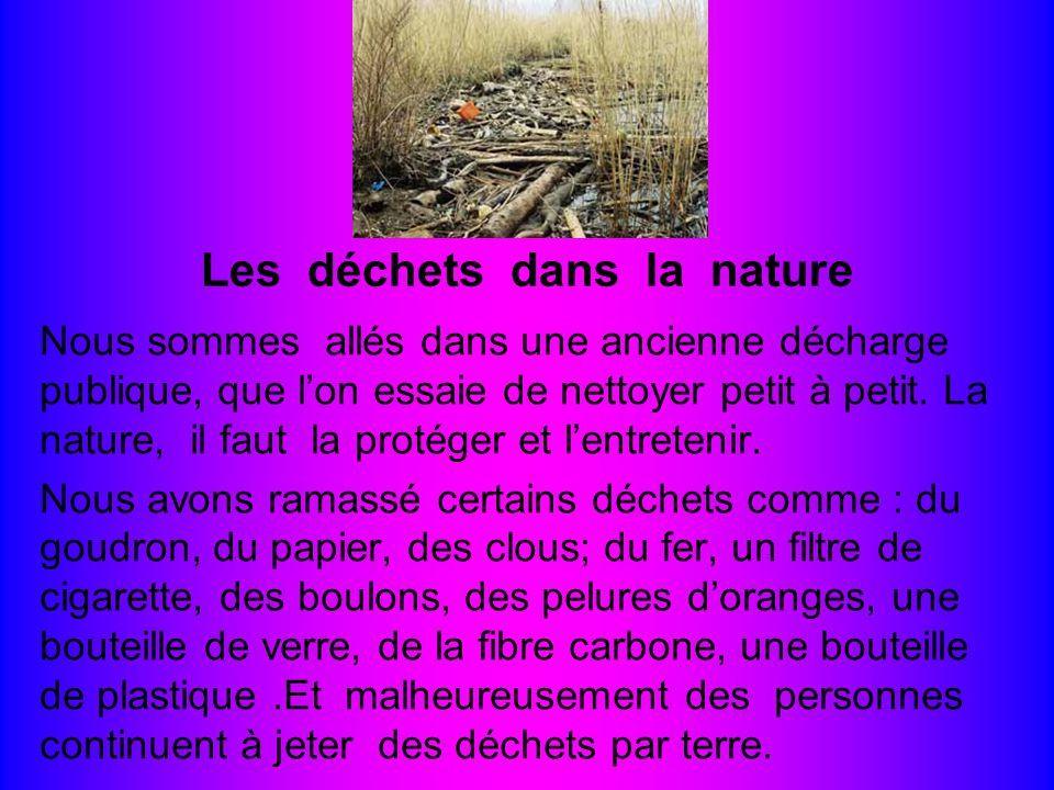 Ce que nous polluons dans la nature nous est rendu : c'est ce que nous respirons, ce que nous buvons et ce que nous mangeons. Tels donc des crétins indécrottables nous nous salissons nous-mêmes. Et encore plus…les enfants !
