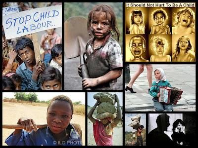 Ce qui se passe : le travail illégal des enfants !