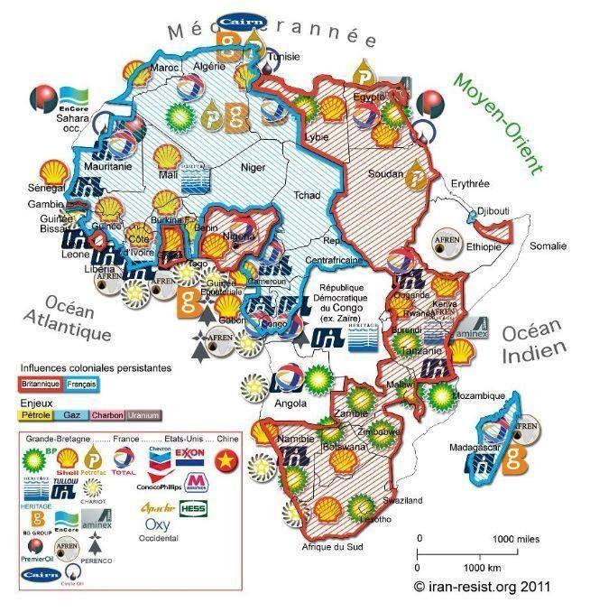 Sans l'Afrique la France serait un pays pauvre ?
