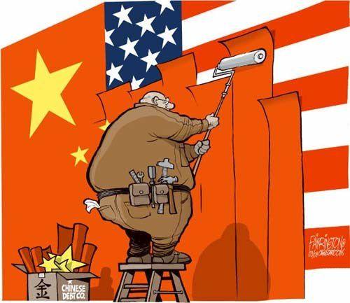 La Chine achète la dette américaine….la réalité est que les étasuniens se conduisent en mineurs incapables et que la schizophrénie de leur comportements fait comprendre ceci : ils ont perdu tous les moyens concrets de leur frivoles arrogances. Que reste-t-il (quantitativement) de leur souveraineté ?