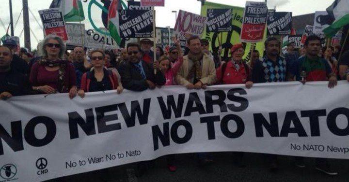 assez des guerres injustifiées de l'Otan
