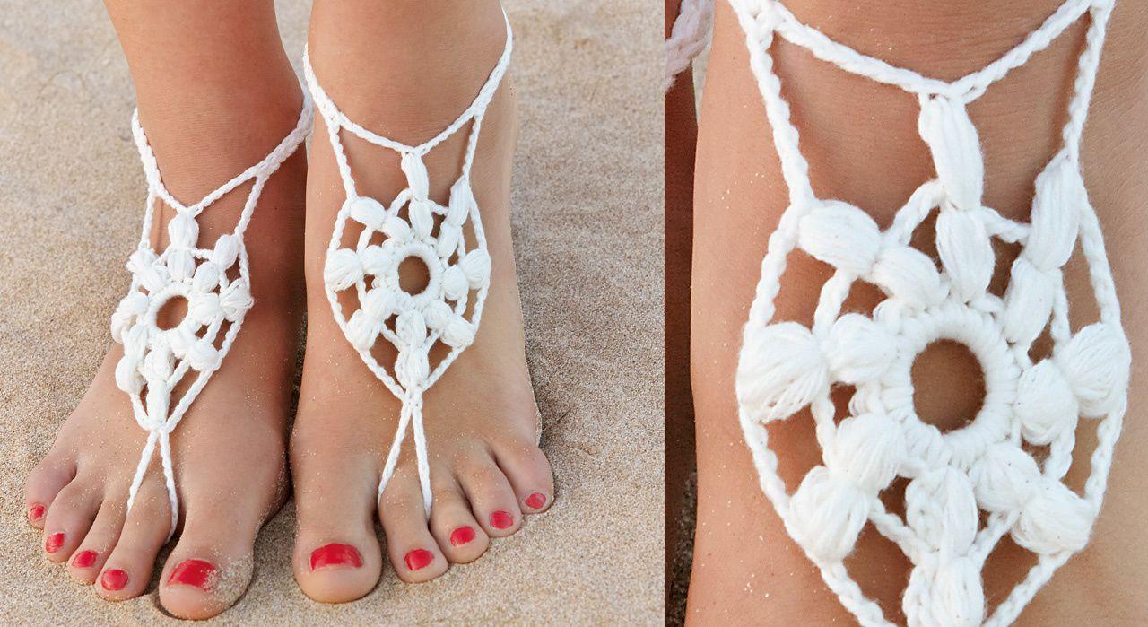 pas des bijoux – du simple tissu au crochet…