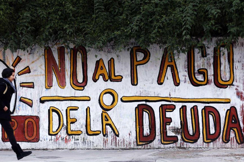 no al pago – Nous ne paierons pas - « Nous avons sauvé les gens plutôt que les banques » Roberto Lavagna ministre de l'Economie