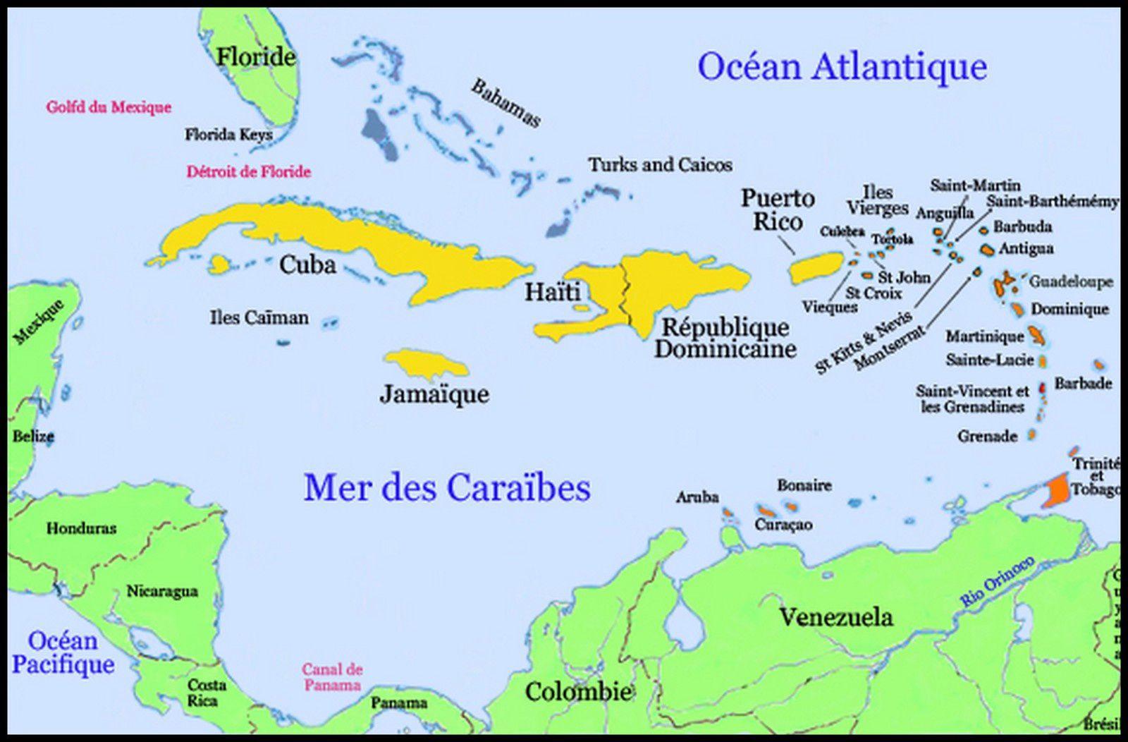 Jamaïque où ?