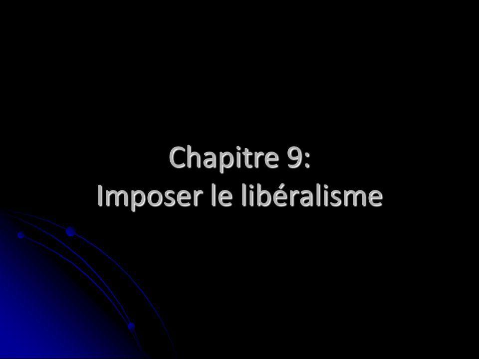 ce qui est impossible – le libéralisme, théoriquement, convainc ne force jamais…et pourtant ?