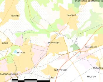 à 12 km de Montpellier