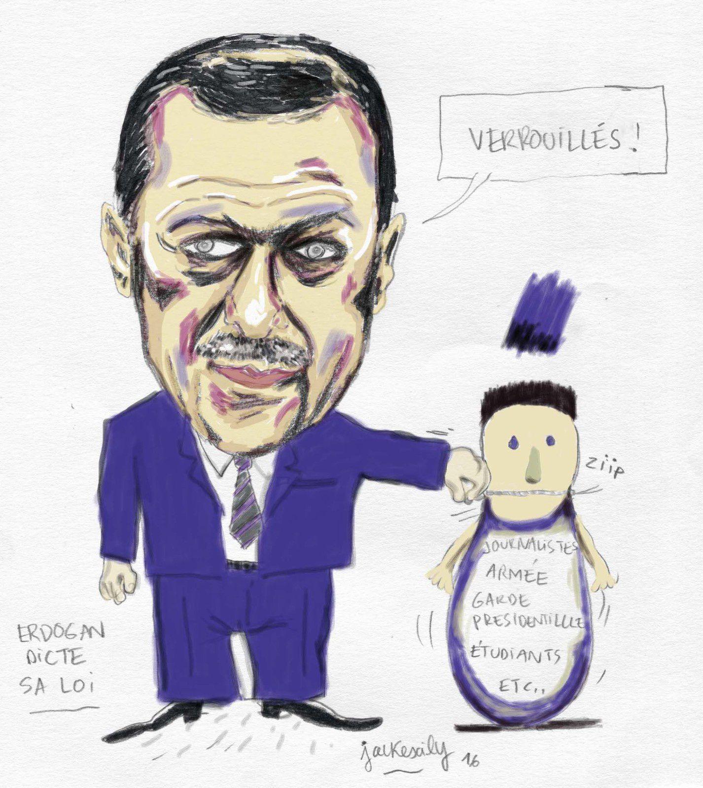Erdogan, après le putsch...