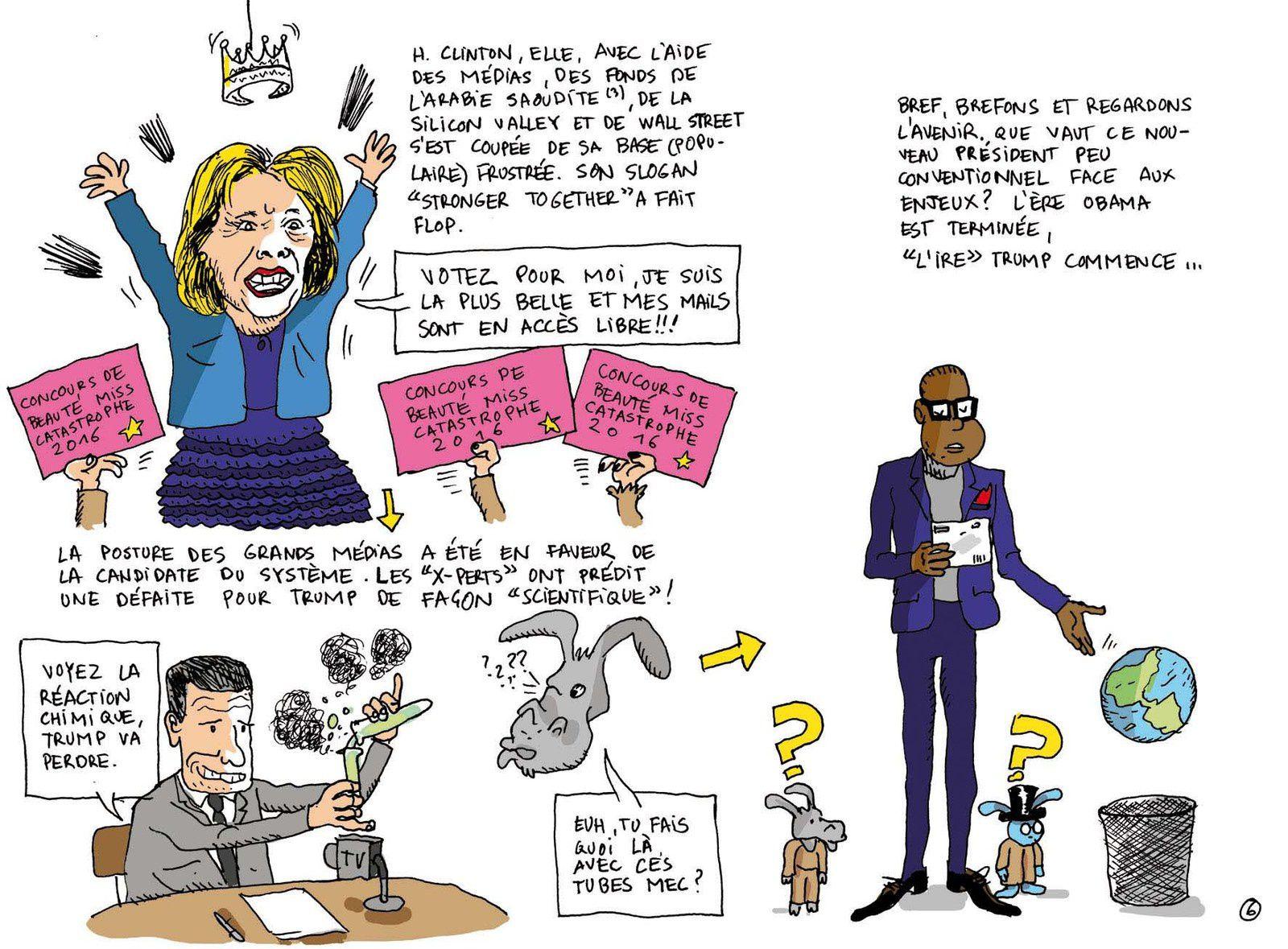&quot&#x3B;L'ire&quot&#x3B; Trump après, l'ère Obama... La chronique de Simon Soul